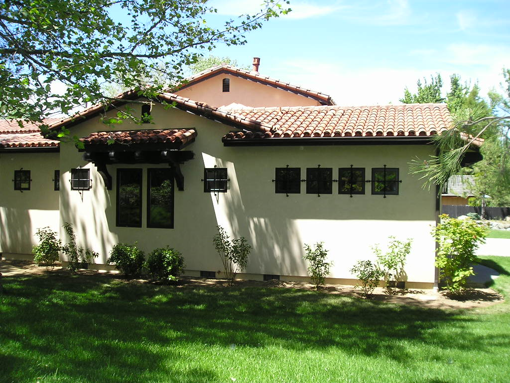 Mediterranean, Santa Fe, Southwest House Plan 43101 with 5 Beds, 5 Baths, 3 Car Garage Picture 3