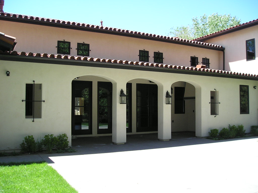 Mediterranean, Santa Fe, Southwest House Plan 43101 with 5 Beds, 5 Baths, 3 Car Garage Picture 7