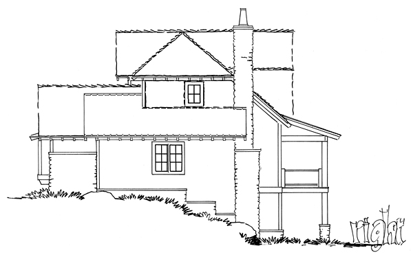 Bungalow, Cottage, Country, Craftsman House Plan 43224 with 5 Beds, 4 Baths, 1 Car Garage Picture 2
