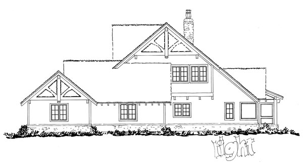 Country Craftsman Southern House Plan 43228