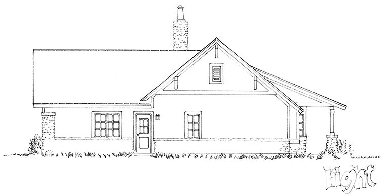 Country, Farmhouse House Plan 43240 with 3 Beds, 3 Baths, 2 Car Garage Picture 1