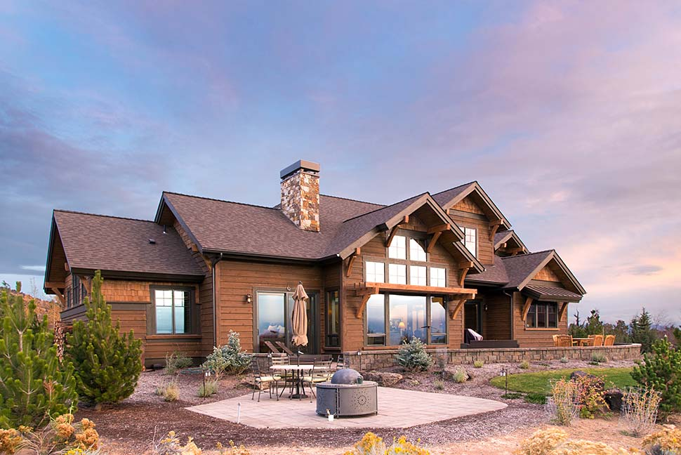 Country Craftsman House Plan 43301