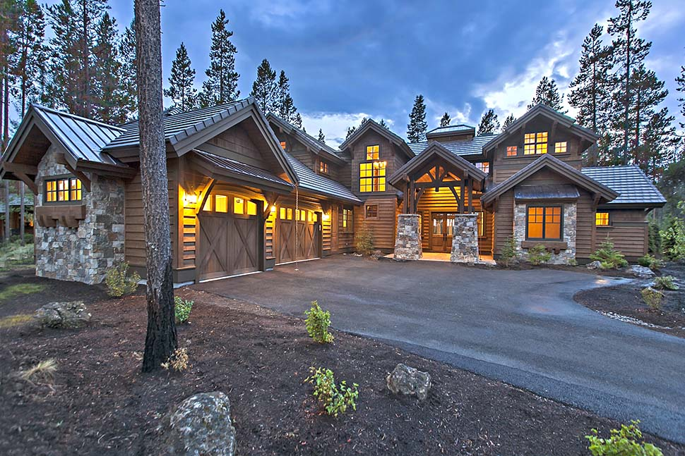 Craftsman House Plan 43303 with 4 Beds, 5 Baths, 3 Car Garage Picture 2