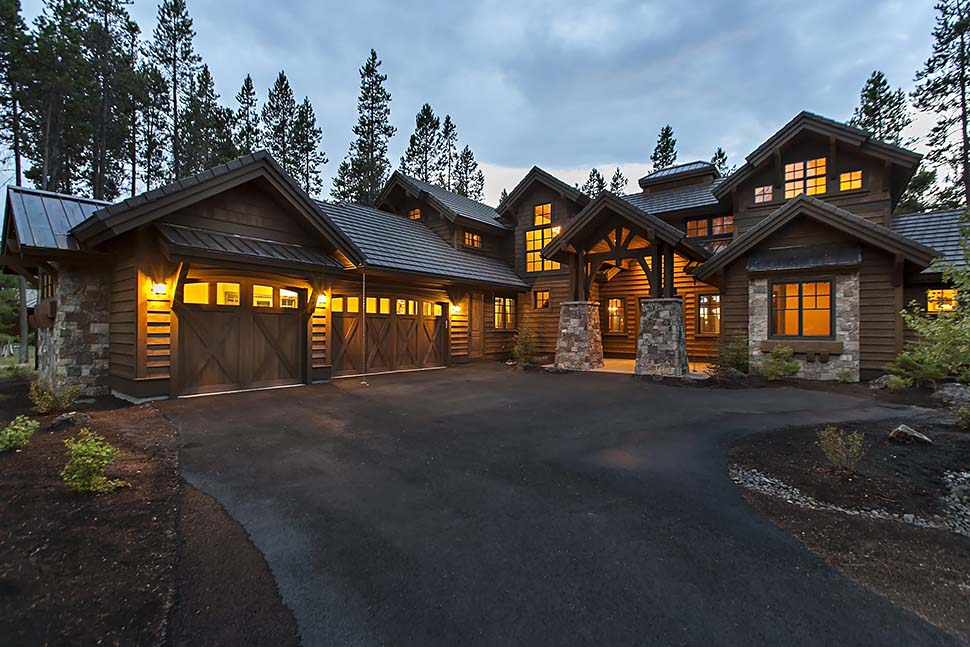 Craftsman House Plan 43303 with 4 Beds, 5 Baths, 3 Car Garage Picture 9
