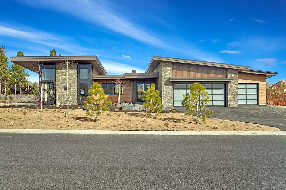 Contemporary, Modern House Plan 43329 with 3 Beds, 4 Baths, 3 Car Garage Picture 1