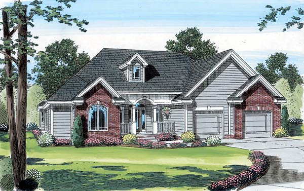 Traditional House Plan 44005 Elevation