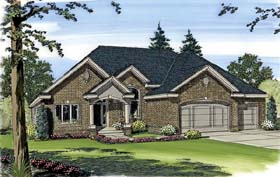 Plan Number 44006 - 1850 Square Feet