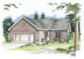 Plan Number 44007 - 1412 Square Feet