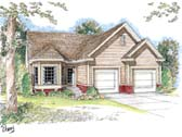Plan Number 44008 - 1304 Square Feet