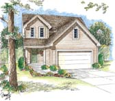 Plan Number 44011 - 1589 Square Feet
