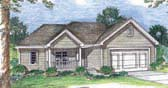Plan Number 44014 - 1381 Square Feet
