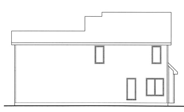 Traditional House Plan 44016 Rear Elevation