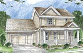 Plan Number 44017 - 1492 Square Feet