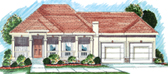 Plan Number 44022 - 1586 Square Feet