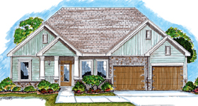 Bungalow Traditional House Plan 44025 Elevation