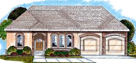 Florida , Mediterranean , Southwest House Plan 44026 with 2 Beds, 2 Baths, 2 Car Garage Elevation