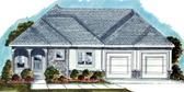 Plan Number 44029 - 1438 Square Feet