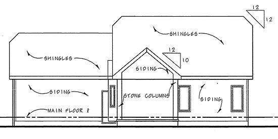 Mediterranean House Plan 44029 Rear Elevation