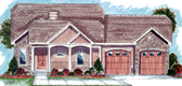 Plan Number 44030 - 1438 Square Feet