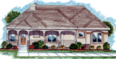 Plan Number 44031 - 1438 Square Feet