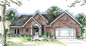 Traditional House Plan 44037 Elevation