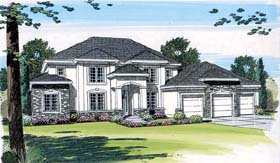 Plan Number 44041 - 3545 Square Feet