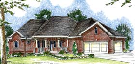 Traditional House Plan 44048 Elevation