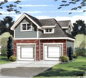 Garage Plan 44057