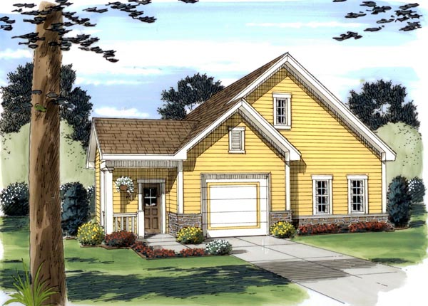 Garage Plan 44059 Elevation
