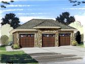 Garage Plan 44060