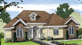 Plan Number 44080 - 1828 Square Feet