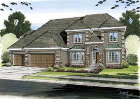 Plan Number 44085 - 3662 Square Feet