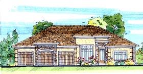 Mediterranean House Plan 44109 Elevation