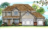 Plan Number 44116 - 2580 Square Feet