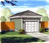 Garage Plan 44120