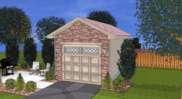 Garage Plan 44124