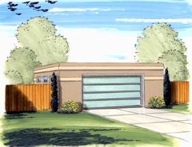 Garage Plan 44138