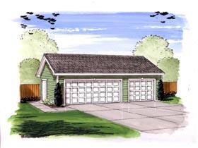 Garage Plan 44153
