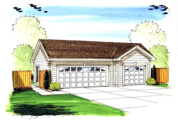 Garage Plan 44154