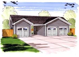 Garage Plan 44156
