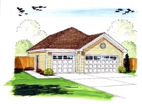 Garage Plan 44160