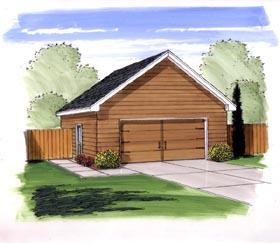 Garage Plan 44163