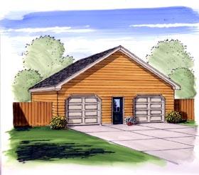 Garage Plan 44165