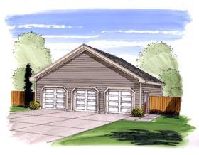 Garage Plan 44166