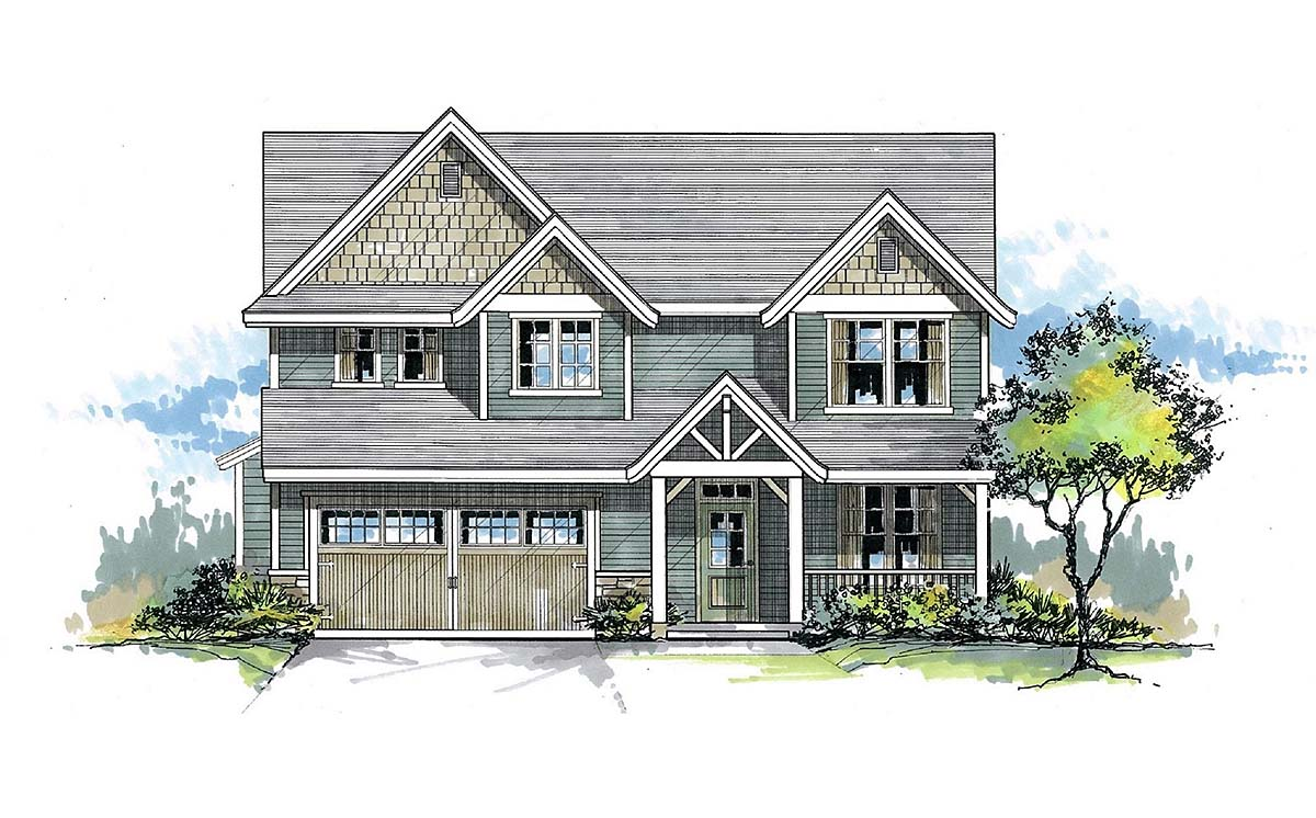 House Plan 44400