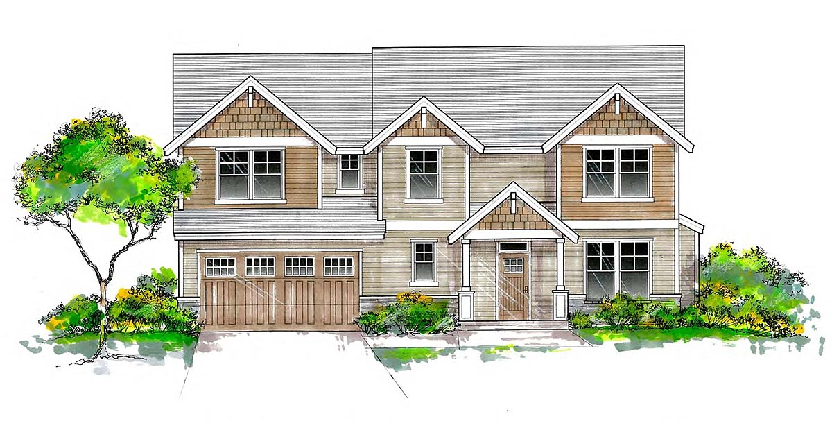 House Plan 44405