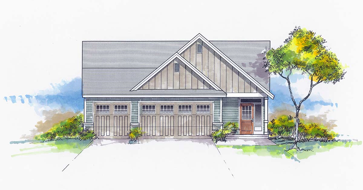 House Plan 44406