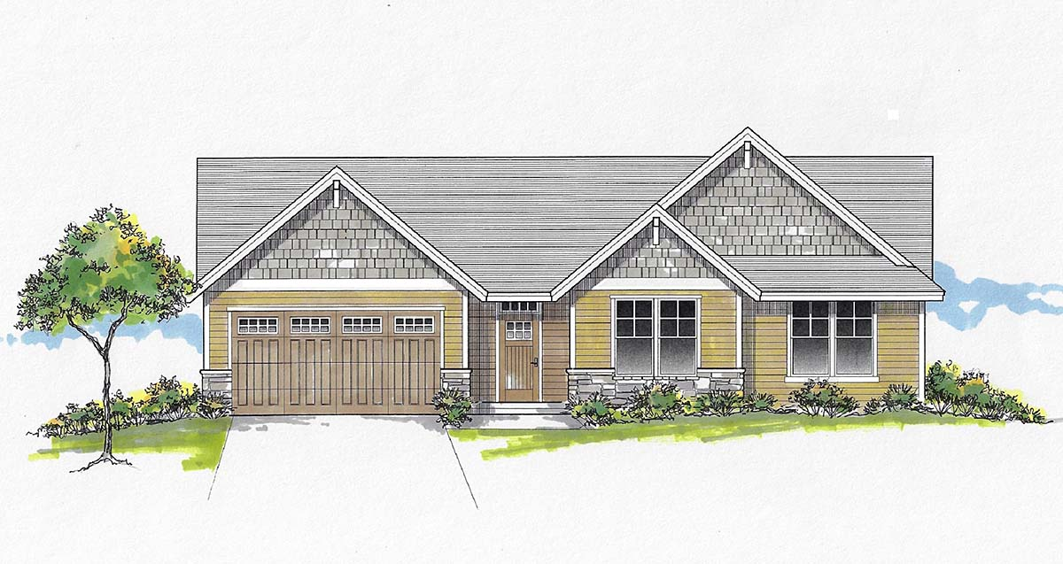House Plan 44408