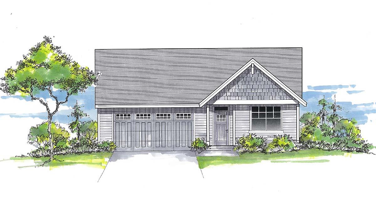 House Plan 44412