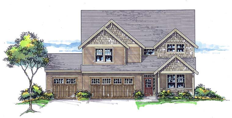 Traditional House Plan 44501 Elevation